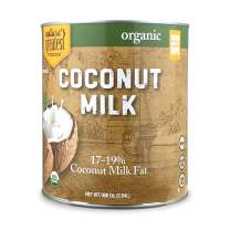 Nature's Greatest Foods, Organic Unsweetened Coconut Milk, No. 10 Can, 96 ounce (Pack of 1)