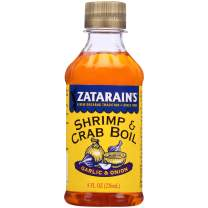 Zatarain's New Orleans Style Liquid Crab Boil With Garlic & Onion, 8 oz (Pack of 6)