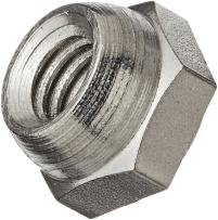 """18-8 Stainless Steel Acorn Nut, Right Hand Threads, 7/16""""-20 Threads (Pack of 5)"""