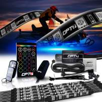 OPT7 10pc Aura Snowmobile Body Glow LED Lighting Kit | Multi-Color Accent Neon Strips w/Switch