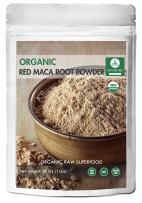 Naturevibe Botanicals USDA Organic Red Maca Powder 1lb (16 Ounces), Gluten-Free & Non-GMO
