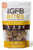 The GFB Gluten Free, Grain Free Protein Bites, Dark Chocolate Hazelnut, 4 Ounce (6 Count), FLAVOR MAY VARY, Vegan, Dairy Free, Non GMO, Soy Free