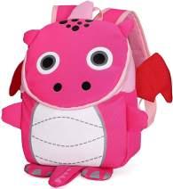 Cute Dinosaur Toddler Backpack for Girls Safety Harness Kids Preschool Rucksack