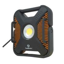 Southwire AL100CSW 10000 Lumen LED Work Light, with USB Power Outlet, 100 Watts, 120 Volts, Weatherproof and Drop Tested, 10,000, Copper