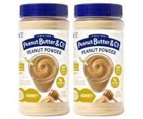 Peanut Butter & Co. Honey Peanut Powder, Gluten Free, 6.5 Ounce Jars (Pack of 2)