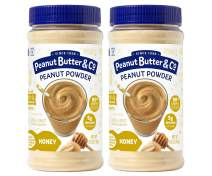 Peanut Butter & Co. Honey Peanut Powder, Gluten Free, 6.5 Ounce Jars (Pack of 2)