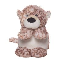 "Manhattan Toy Pixies Lucy Leopard Stuffed Animal, 5"""