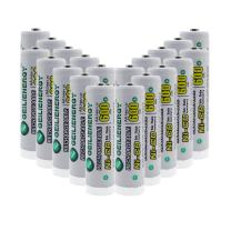GEILIENERGY Solar Light Batteries AA Size NiCd AA 600mAh 1.2 V Rechargeable Batteries for Garden Light Solar Lamp(Pack of 20)