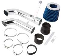 DNA MOTORING ITK-0066-BL Air Intake System Blue [for 98-03 Chevy S10 2.2L]