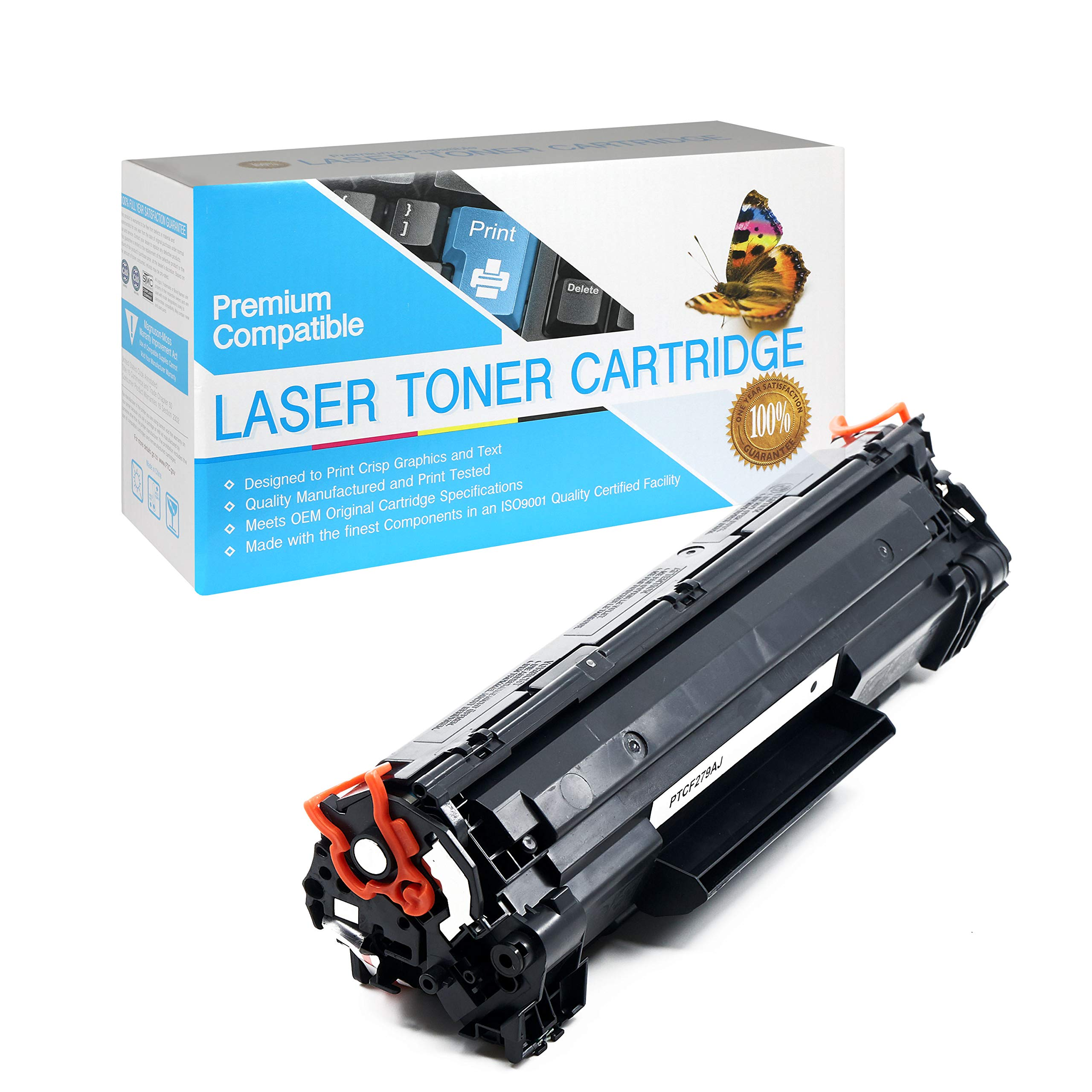 CF279A Black,1 Pack SuppliesOutlet Compatible Toner Cartridge Replacement for HP 79A