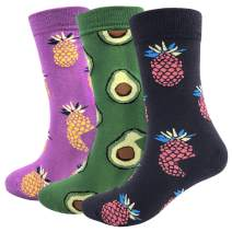 Dress Socks for Men Colorful Funny Novelty Colorful Cotton