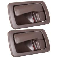 SCITOO Door Handles Interior Left Side fits for Toyota Camry 1992-1996 Brown(2pcs)
