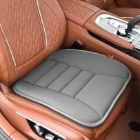 RaoRanDang Car Seat Cushion Pad for Car Driver Seat Office Chair, Computer Chair with Memory Foam (Gray)