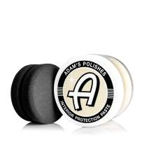 Adam's Leather & Interior Protection Paste - Heals, Restores Dry Cracked Leathers - Beeswax, Lanolin Replenish & Protect Your Interior Surfaces (5 oz Jar)