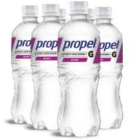 Propel Water Berry Flavored Water With Electrolytes, Vitamins and No Sugar 16.9 Ounces (Pack of 6)