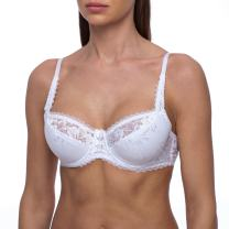 frugue Women's Full Coverage Minimizer Plus Size Underwire Padded Bra