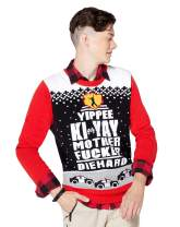 Yippee Ki-Yay Light Up Ugly Christmas Sweater - Die Hard