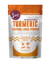 Suncore Foods - Organic Yellow Turmeric Powder, 15oz bag, Gluten Free and Non-GMO, Seasoning, Superfood
