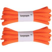 """2 Pairs Oval Athletic Shoelaces,Round Shoelaces 5/32"""" Thick, Sneakers & Boots"""