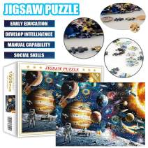 1000 Piece Jigsaw Puzzle for Adults Fun Indoor Activity Educational Intellectual Fun Family Game Puzzle for Adults Kids - Space
