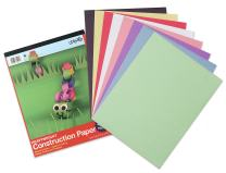 Carolina Pad U:Create Heavy Duty Construction Paper Tablet, 12 x 18-Inches, Assorted Colors, 32 sheets (7618)