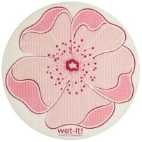 Wet-It! Swedish Dishcloth (Cherry Blossom Round)