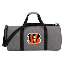 """Officially Licensed NFL """"Wingman"""" Duffel Bag, Gray, 24"""" x 12"""" x 12"""""""