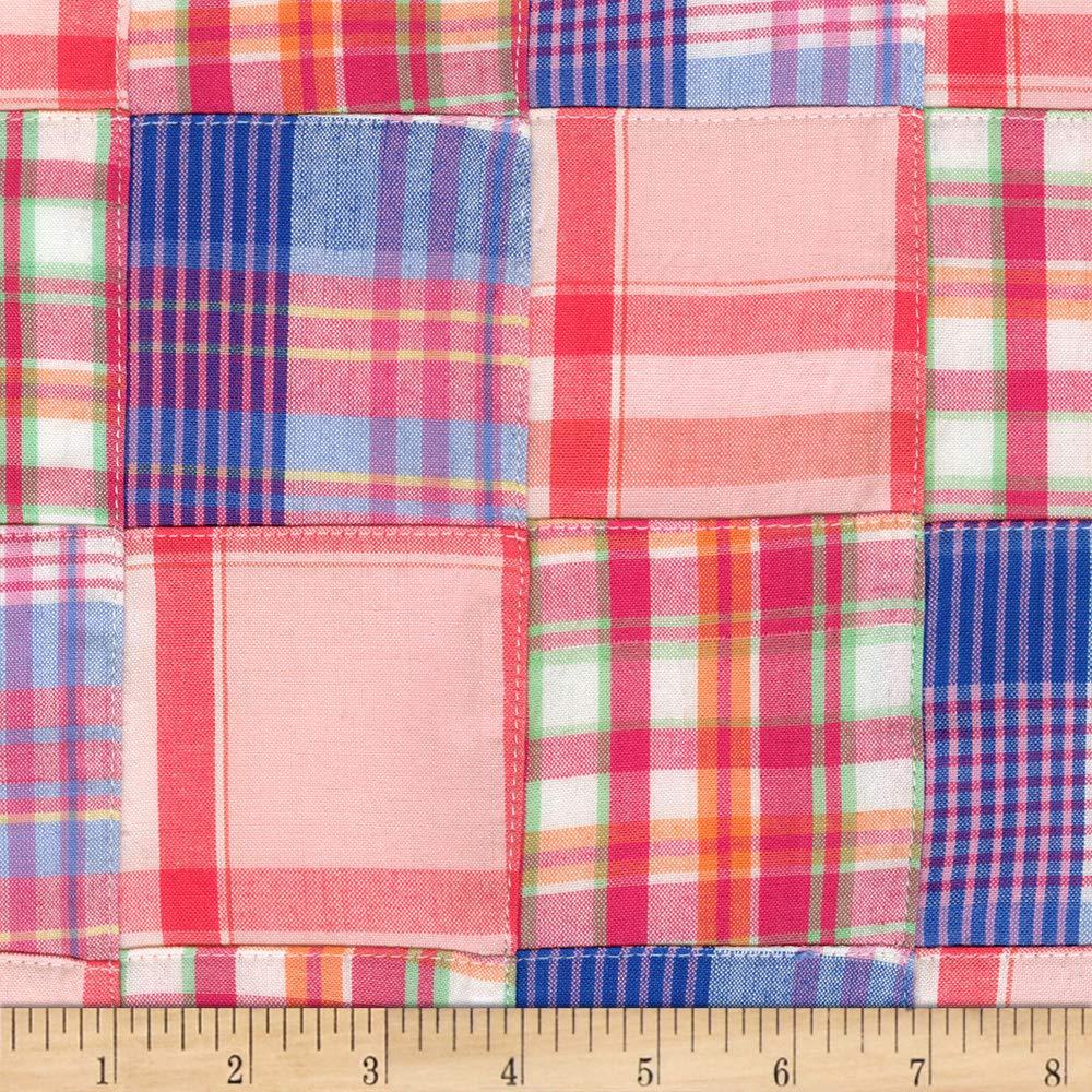Robert Kaufman Nantucket Patchwork 3 Mango Fabric Fabric by the Yard