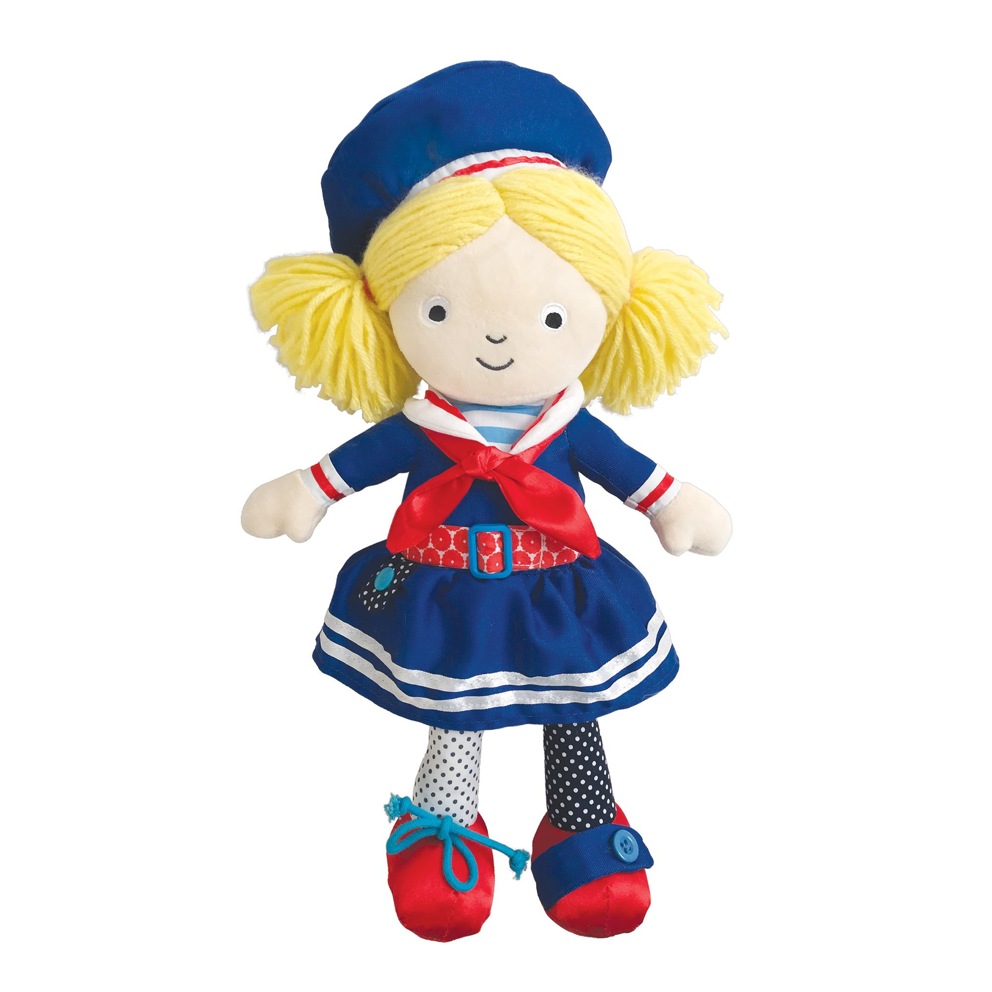 """Manhattan Toy Dress up Friends Aimee Doll for Toddlers, 15"""""""