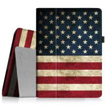 Fintie Case for iPad 2 3 4 Case (Old Model) - Folio Stand Smart Cover Auto Sleep/Wake Feature for Apple iPad 2, iPad 3rd gen & iPad 4th Generation with Retina Display, US Flag