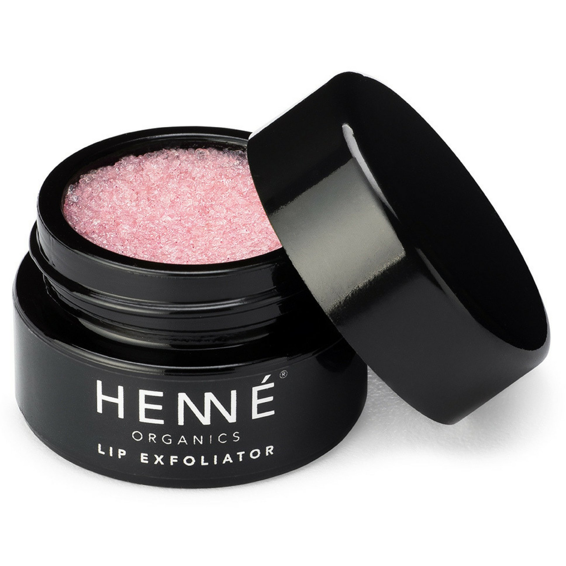Henné Organics Lip Exfoliator - Natural and Organic Sugar Scrub - Rose Diamonds