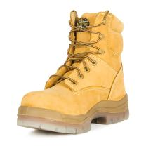 "Oliver 45 Series 6"" Leather Men's Composite Toe Work Boots, Wheat (45633C)"