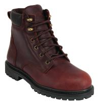 "KING'S 6"" Steel Toe Leather Work Boots (KCWB03)"