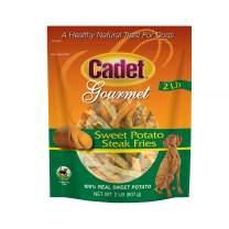 Cadet Gourmet Sweet Potato Steak Fries for Dogs
