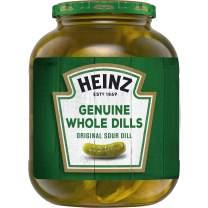 Heinz Genuine Whole Dill Pickles, Original, 46 Fl Oz