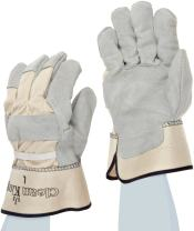 MAGID Clean King TB23E Leather Glove, Safety Cuff, Men's (12 Pair)