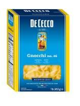 De Cecco Semolina Pasta, Gnocchi, 1 Lb (Pack Of 12)