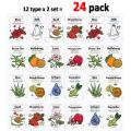 Korean Skin Care Face mask Sheets The YEON Pack of 24- Everyday Natural Care Essence Mask Sheet