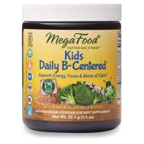 MegaFood, Kids Daily B-Centered Booster Powder, Supports Energy, Focus and Calm, Vitamin B Complex, Gluten Free, Vegan, 1.1 oz (30 Servings)