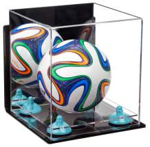Better Display Cases Acrylic Mini - Miniature (not Full Size) Soccer Ball Display Case