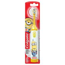 Colgate Kids Battery Powered Toothbrush, Minions (Colors Vary)