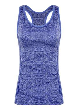 DISBEST Yoga Tank Top Womens Performance Stretchy Quick Dry Sports Workout Running Top Vest with Removable Pads