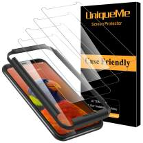 [4 Pack] UniqueMe Screen Protector for Google Pixel 4 XL Tempered Glass For [Alignment Frame Easy Installation] 9H Hardness Bubble Free