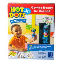 Educational Insights Hot Dots Jr. Getting Ready For School Set, 160 Lessons, Homeschool, Interactive Pen Included, Ages 3+