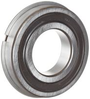 SKF 6211 2RSNRJEM Light Series Deep Groove Ball Bearing, Deep Groove Design, ABEC 1 Precision, Double Sealed, Snap Ring, Contact, Steel Cage, C3 Clearance, 55mm Bore, 100mm OD, 21mm Width, 6520.0 pounds Static Load Capacity, 9800.00 pounds Dynamic Load Capacity