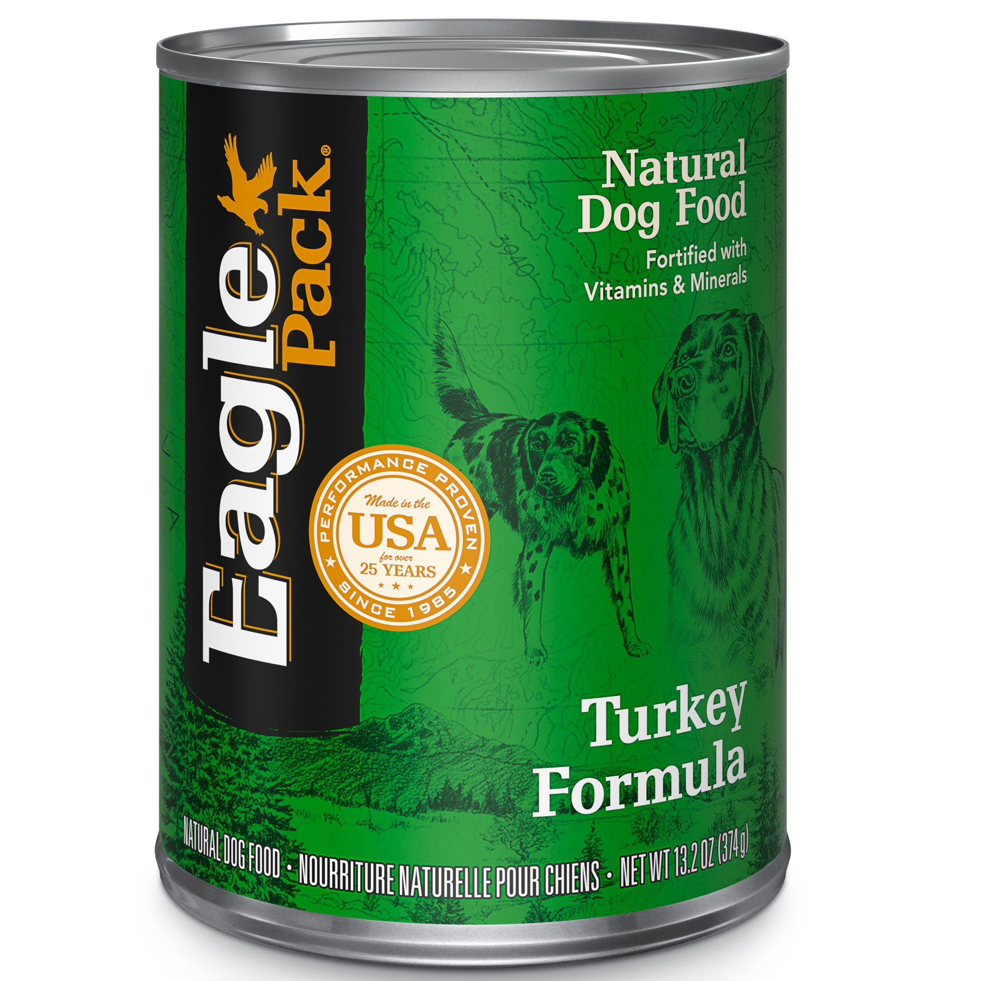 Eagle Pack Natural Wet Canned Dog Food, 13.2-Ounce Can (Pack of 12)