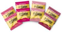 Honey Stinger Organic Energy Chews – Variety Pack with Sticker – 8 Count – Chewy Gummy Energy Source for Any Activity - Pink Lemonade, Fruit Smoothie, Pomegranate Passionfruit & Cherry Blossom