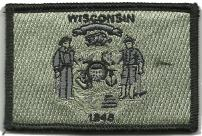 Tactical State Patch - Wisconsin
