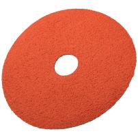 "3M Fibre Disc 785C, Ceramic, 4-1/2"" Diameter, 60 Grit, Orange (Pack of 100)"