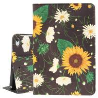 Sunflower iPad Mini Case 4/5, Daisy Flower 7.9 Inch Folio Stand Smart Tablet Case Cover for iPad Mini 4th Gen and 5th Gen 2019 Auto Sleep Wakeup